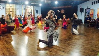 Dola Re Dola | Devdas | Svetlana Tulasi's Bollywood Dance workshop. Choreography by Svetlana Tulasi
