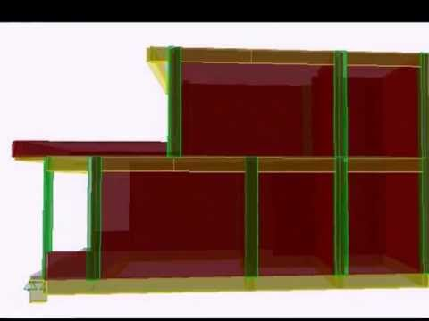 Mô hình nhà 2 tầng ..wmv
