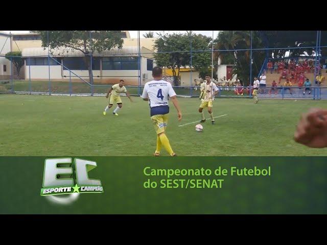 SEST/SENAT promove campeonato de futebol 7x7