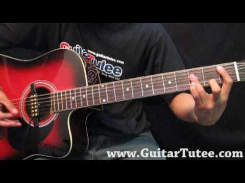 Demi Lovato - Here We Go Again, by www.GuitarTutee