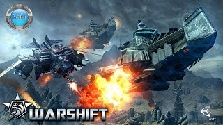WARSHIFT Gameplay 60fps