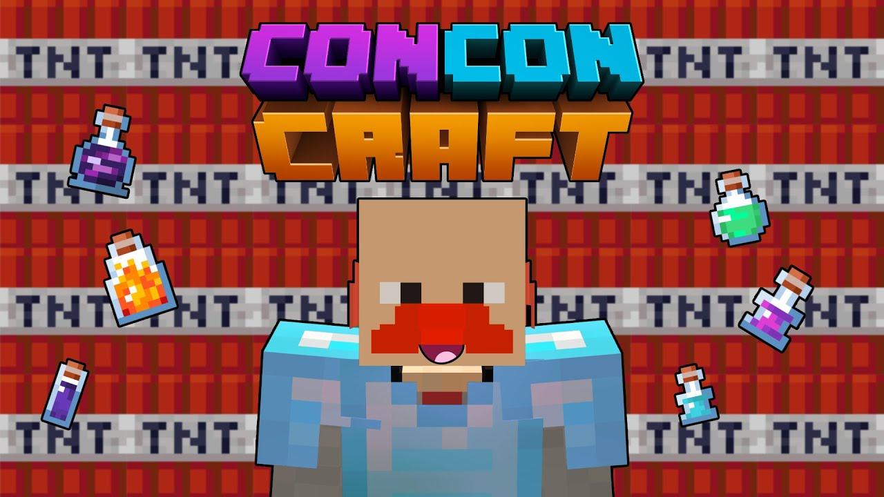 CONCONCRAFT'TA DENİZ SALDIRISI - Minecraft #16