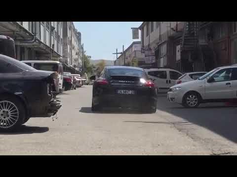 Porsche Panamera 4S Turbo 4.8i V8, Performans Egzoz Sesi