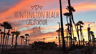 GOING TO THE BEACH AT SURF CITY USA / HUNTINGTON BEACH/ SEAGULL STOLE PIZZA/FUNNY : cuzuvmcvoy