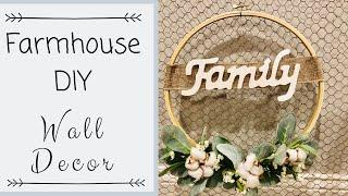 FARMHOUSE DIY | FARMHOUSE DIY DECOR | FARMHOUSE LIVING ROOM DECOR | DIY PROJECT
