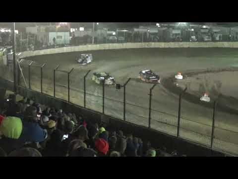 2018 LaSalle Speedway Thaw Brawl Friday Heat Race Action