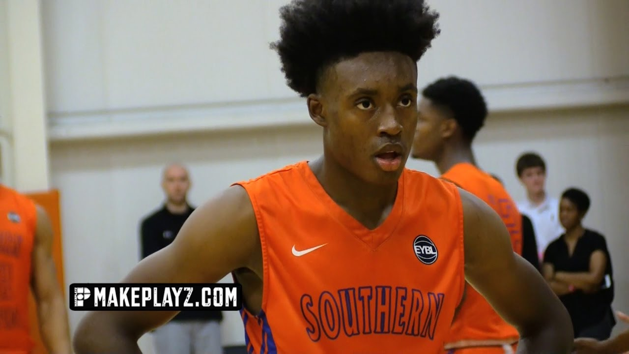 competitive price 6a8e7 afb13 5-Star Collin Sexton Has Committed to Alabama! Nike EYBL Highlights!