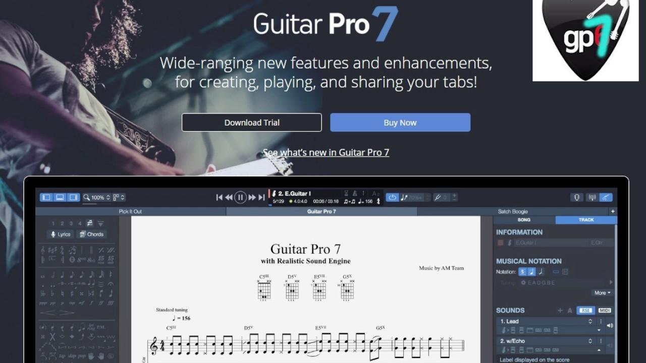 Guitar Pro 7 lll Music Editor
