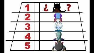 Los 5 Seres mas Poderosos de TODO Dragon Ball / Dragon Ball Super