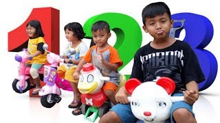 game Fun for kids | Sepeda mainan | Mobil mobilan | videos of children