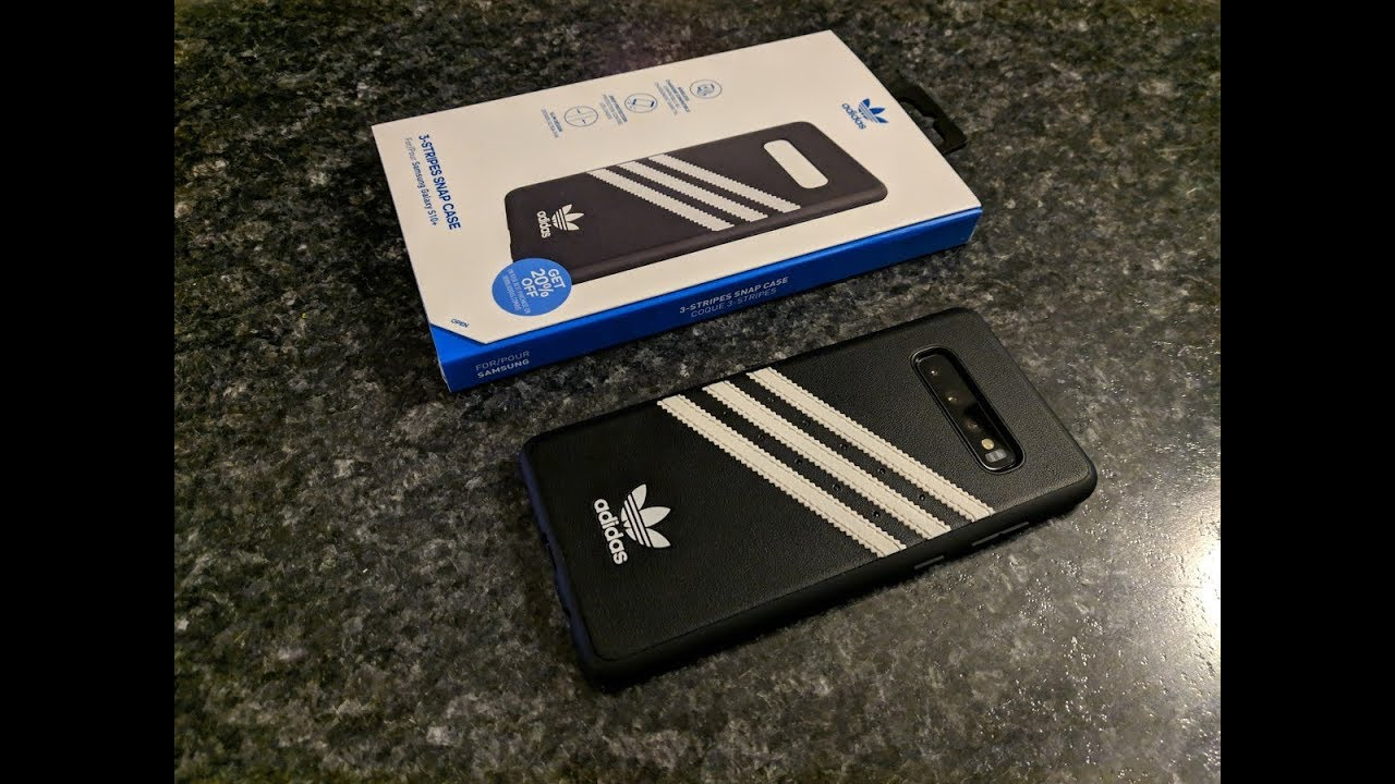 cheap price amazing price fashion styles My favorite case for the Samsung Galaxy S10+ and S10 - Adidas 3 Stripes  Snap Case