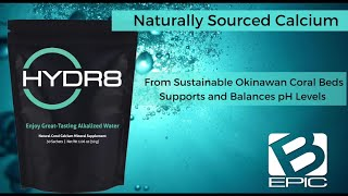 Bepic Hydr8 Coral calcium for water