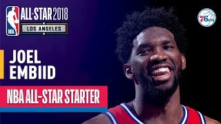 Joel Embiid 2018 All-Star Starter | Best Highlights 2017-2018