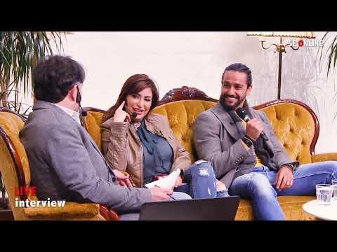 أحمد الحلو و ديما بياعة في لقاء مباشر مع الاعلامي ثائر العمر في السويد Deema Bayyaa & Ahmad Alhelo