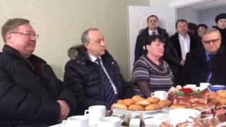"""Сергей Степашин в Иволгино: """"Фактически это небольшой городок"""""""