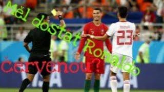 Měl dostat Ronaldo proti Íránu červenou?|MS 2018