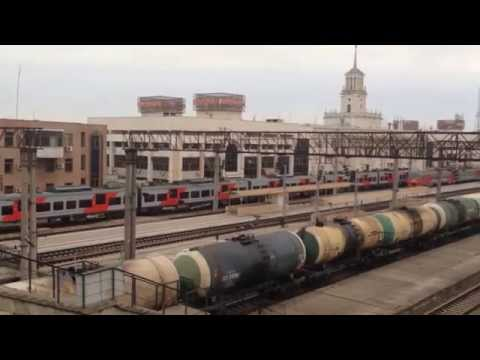 Скорый электропоезд Краснодар - Роза Хутор ЭС1-011