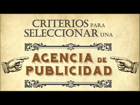 Criterios para seleccionar una agencia de publicidad youtube for Agencia de publicidad