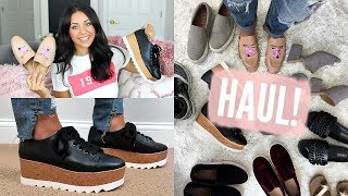 AFFORDABLE SHOE HAUL! FALL TRENDS! TARGET, T.J.MAXX, KOHLS