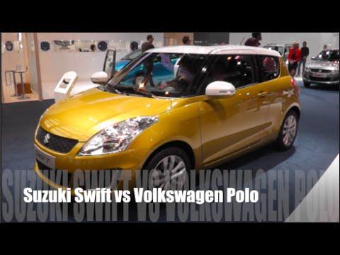 suzuki swift 2015 vs volkswagen polo 2015 youtube. Black Bedroom Furniture Sets. Home Design Ideas