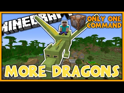 More Dragons in One Command (Minecraft 1.10)