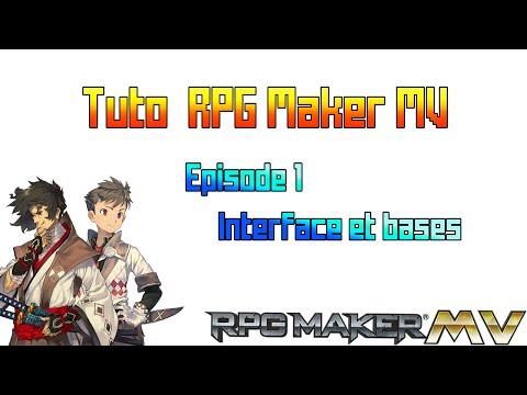 [TUTO] RPG Maker MV #01 : Interface et bases du logiciel |