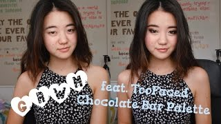 GRWM feat. TooFaced Chocolate Bar Palette! Thumbnail