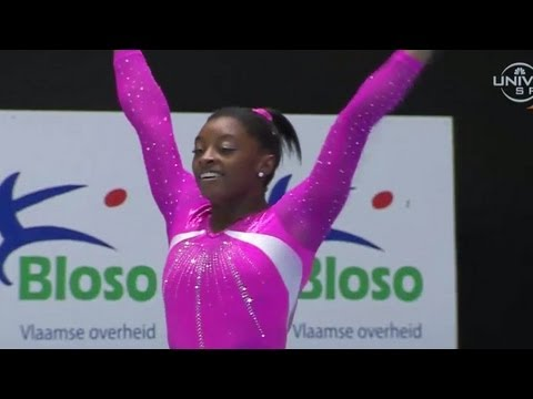 2013 All-Around Champ Simone Biles - Universal Sports