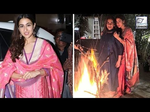 Sara Ali Khan Celebrates Lohri With Mom Amrita Singh | LehrenTV Mp3