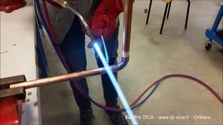 Comment braser un tube de cuivre avec un poste oxyacétylénique