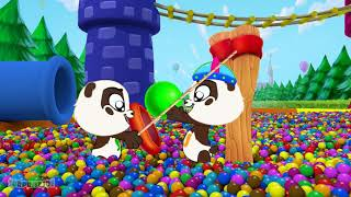 BALL PIT SHOW for Kids to Learning Colors - Panda Bo Videos Compilation  Ep 887