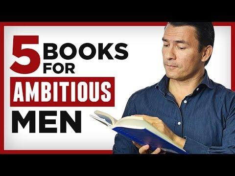 5 Books EVERY Ambitious Man MUST Read | Successful Man Reading List | RMRS