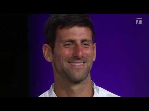 Novak Djokovic: 2019 Wimbledon Final Championship Win Tennis Channel Interview