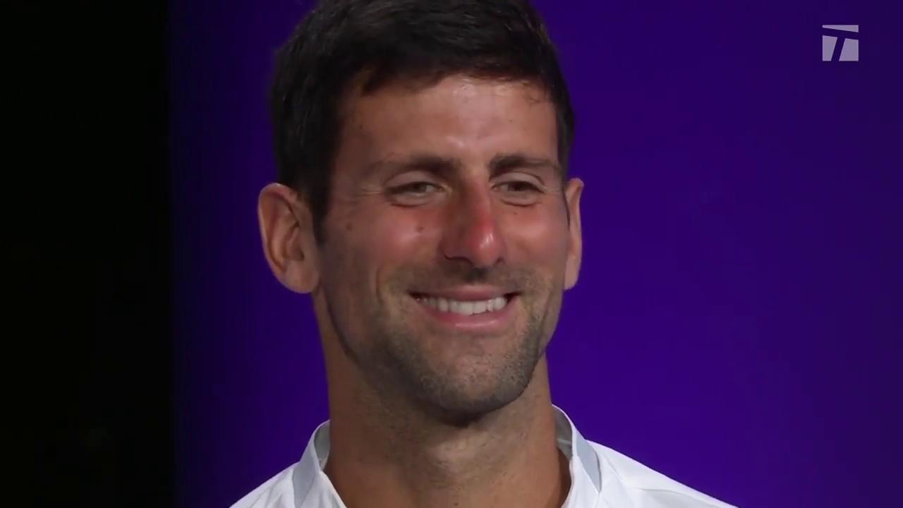 Novak Djokovic 2019 Wimbledon Final Championship Win Tennis Channel Interview Youtube