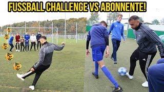 Krasse Freistoss Fussball Challenge VS Abonnenten!!