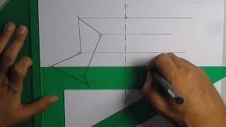 Paralelas y perpendiculares con escuadra y cartabón