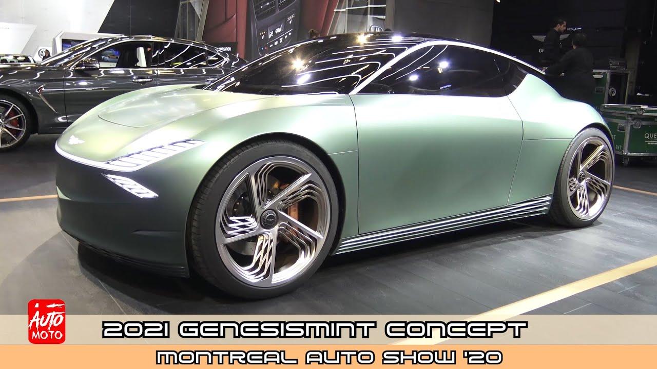 2021 Genesis Mint Concept - Exterior And Interior - MIAS 2020