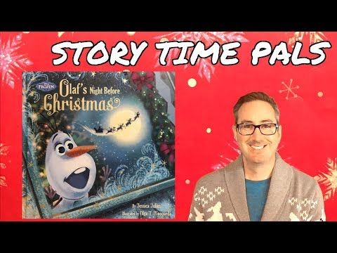 FROZEN OLAF'S NIGHT BEFORE CHRISTMAS by Disney Book Group | Story Time Pals | Kids Books Read Aloud Mp3