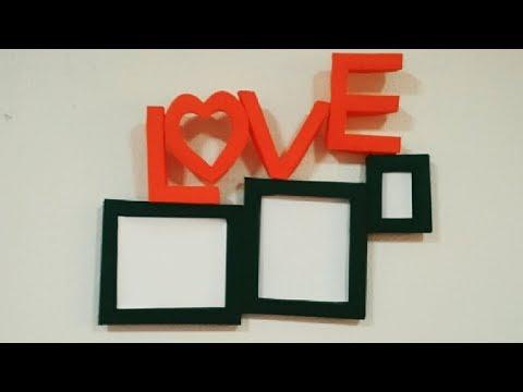 Diy Paper photo frame