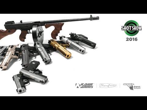 SHOT Show 2016 - Kahr Firearms Group