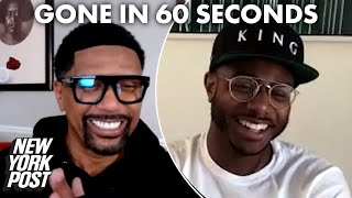 Gone in 60 Seconds with Jalen Rose & Chef Kwame | Renaissance Man with Jalen Rose | New York Post