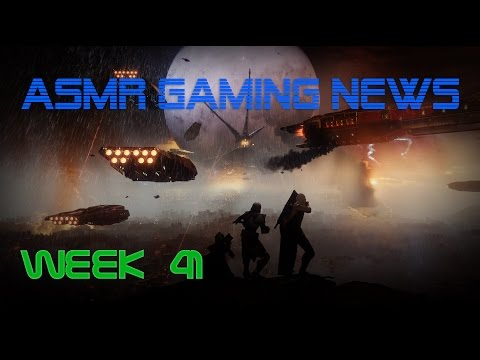ASMR Gaming News (Week 41) Destiny 2, Overwatch, Injustice 2, Sonic Forces, ARMS, Nintendo + More!