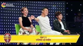 Giọng ải giọng ai | tập 11 vòng lộ diện: Thu Trang chạy lên sân khấu để giành xin số