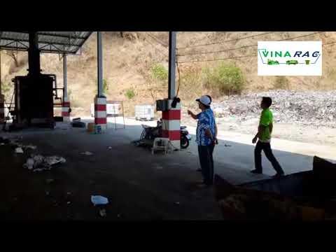 Urban waste incinerator in Vietnam - Vinarac - machinesale.vn@gmail.com