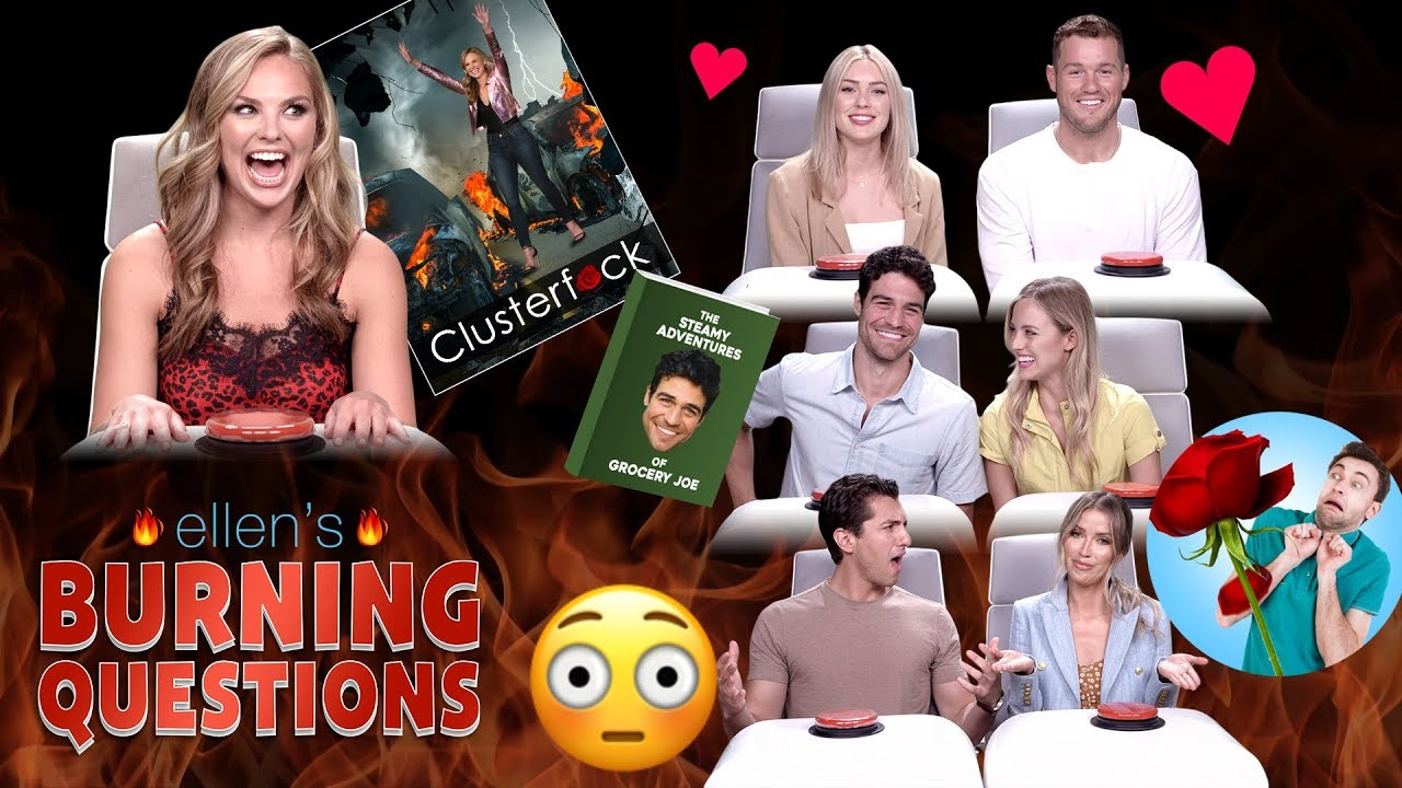 Bachelor Nation Stars Answer Ellen's 'Burning Questions'