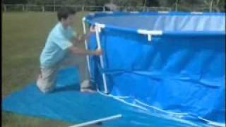Bestway® Round Steel Pro Frame Set-Up Video(This is the official set up video for the Bestway® Round Frame Pool created by Bestway®. Please visit www.bestway-uk.com for further advice with Bestway® ..., 2010-09-27T15:29:18.000Z)