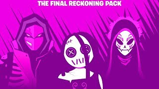 Fortnite The Final Reckoning Pack Showcase! (Blacklight, Catrina, Willow)