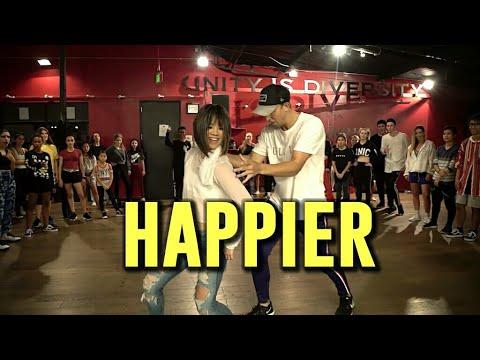 "Bailey Sok & Matt Steffanina| ""HAPPIER| MATT STEFFANINA & BAILEY SOK CHOREOGRAPHY"