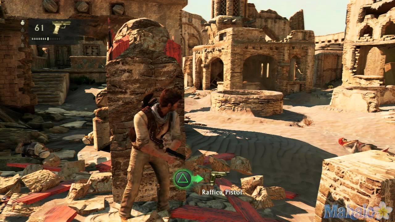 Uncharted 3 Walkthrough - Chapter 19: The Settlement - YouTube