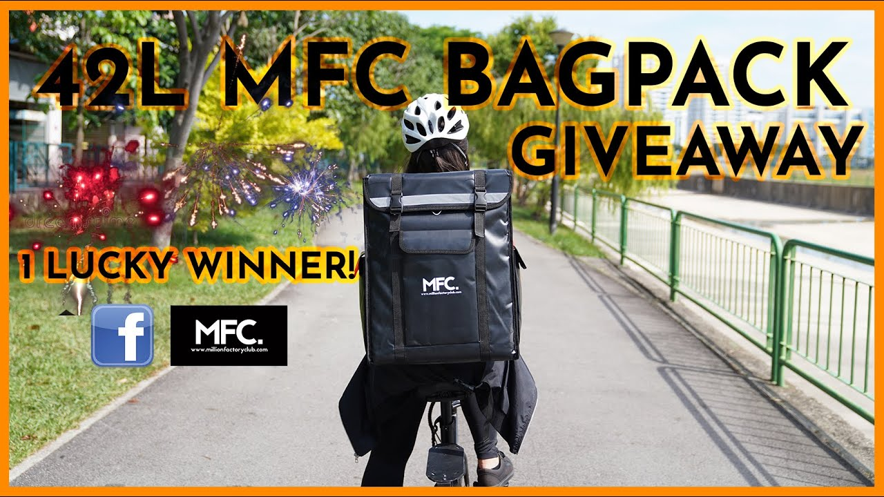 Giving Away 1x 42L Magnetic Tall Backpack Worth $69!! | Backpack Review & Vlog